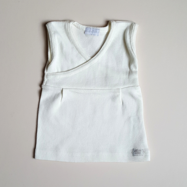 Organic Vest and Bloomer Set