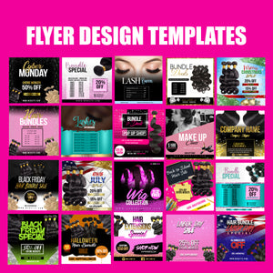 Beauty Industry PSD templates