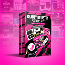 Load image into Gallery viewer, Beauty Industry PSD templates