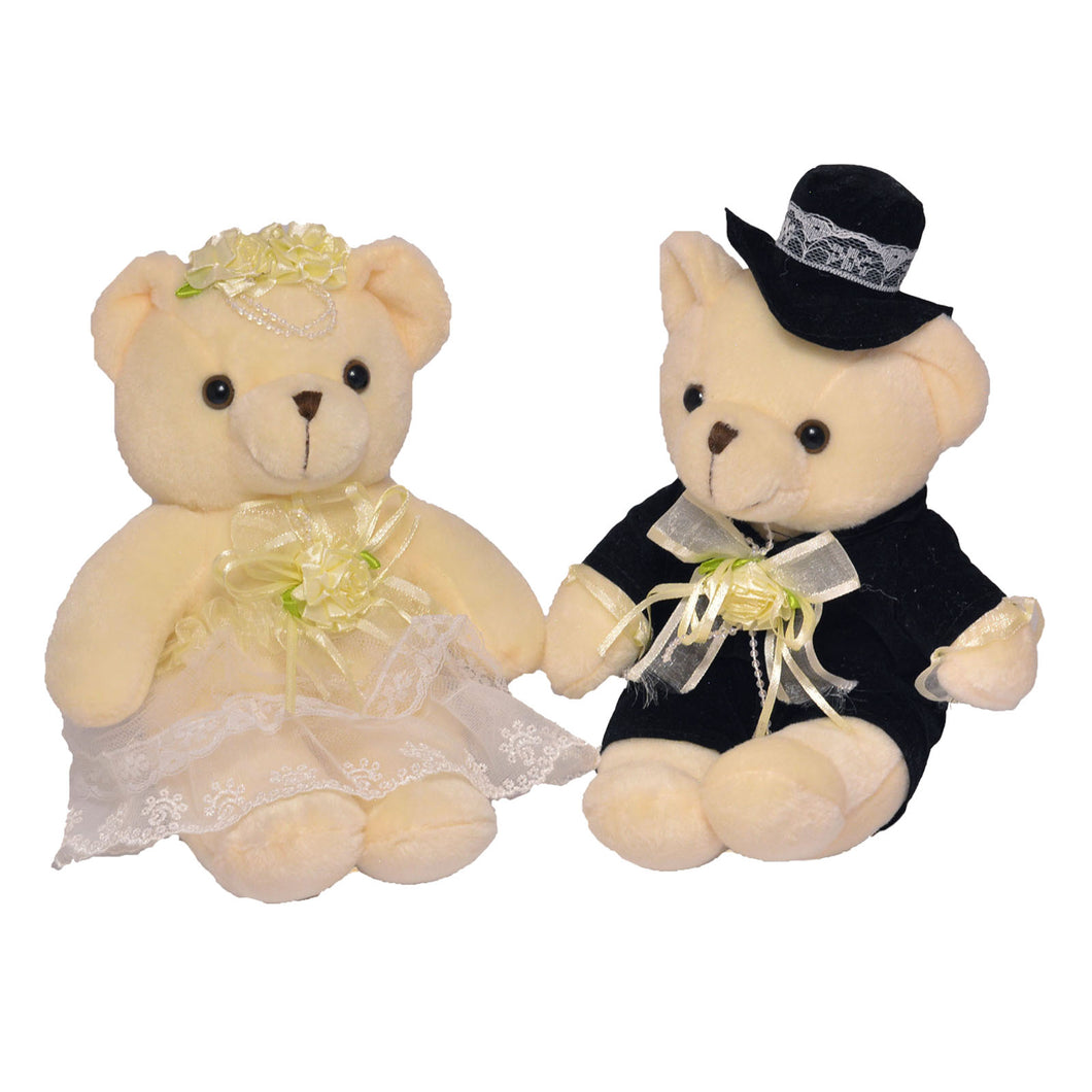Couple Bear Bride & Groom