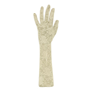 Gloves L Lace (Ecru)