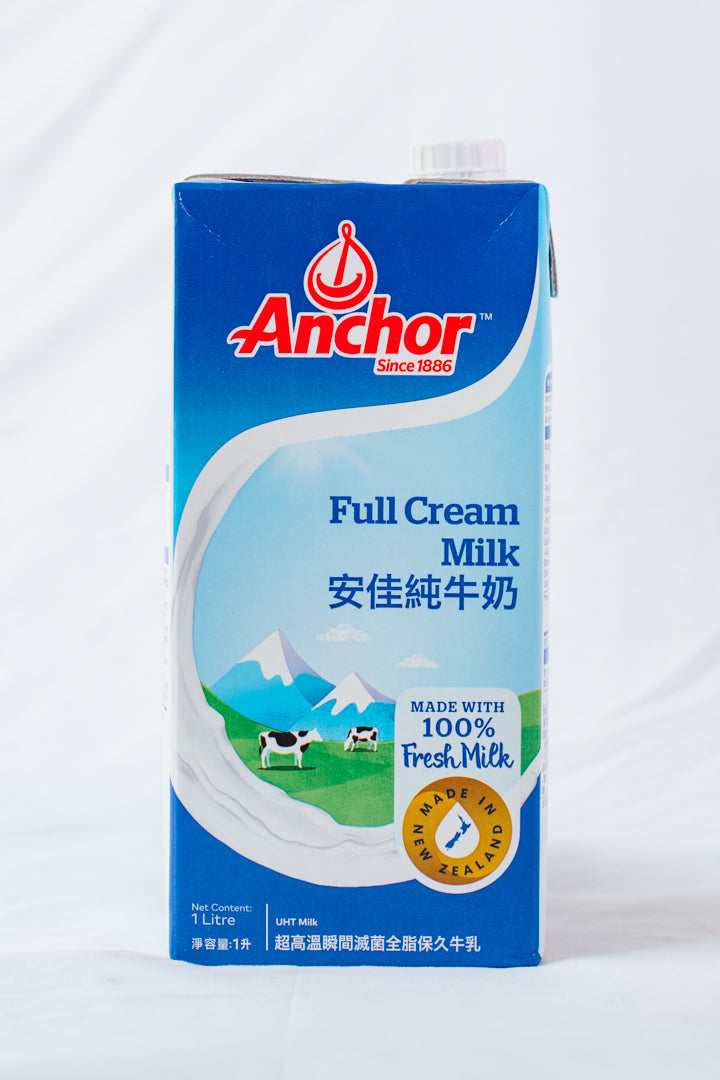 Anchor Full Cream Milk 1L