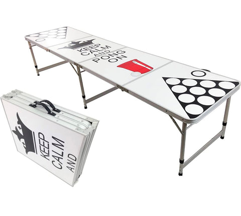 Beer Pong Table - Keep Calm And Pong On