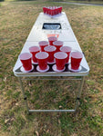 Beer Pong Table with Cooler Bag - Keep Calm And Pong On