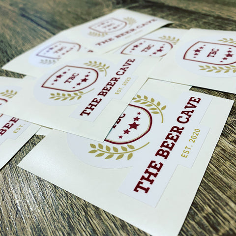 The Beer Cave - Sticker