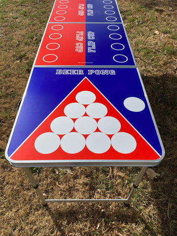 Beer Pong Table - Flip Cup