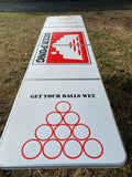 Beer Pong Table - Get Your Balls Wet