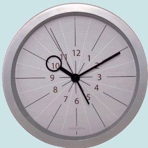 Slice of Time Clodagh Wall Clock