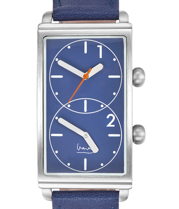 Grand Tour Dual Time BLUE