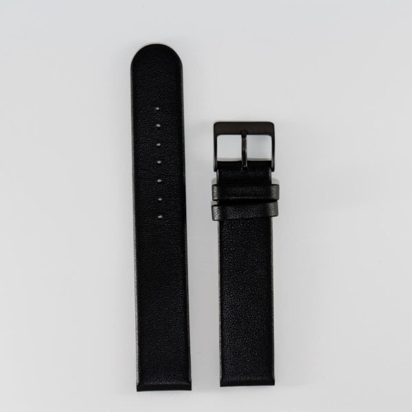 18mm Black Band/Black Buckle