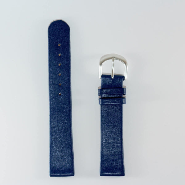 18mm Blue Band, Stainless Steel Buckle
