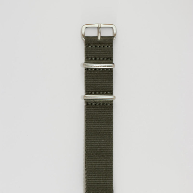 20mm Green NATO band, Nylon