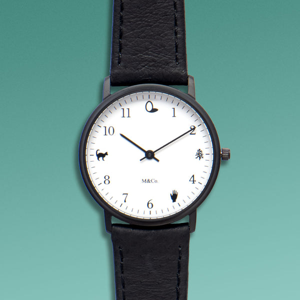 M&Co Onomatopoeia Watch