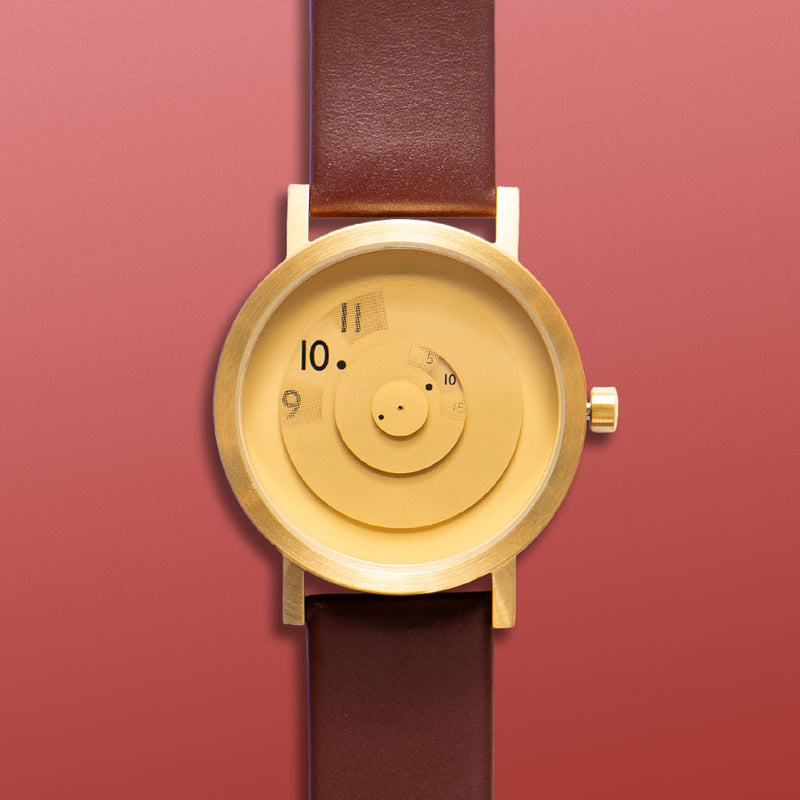 Reveal BRASS Watch