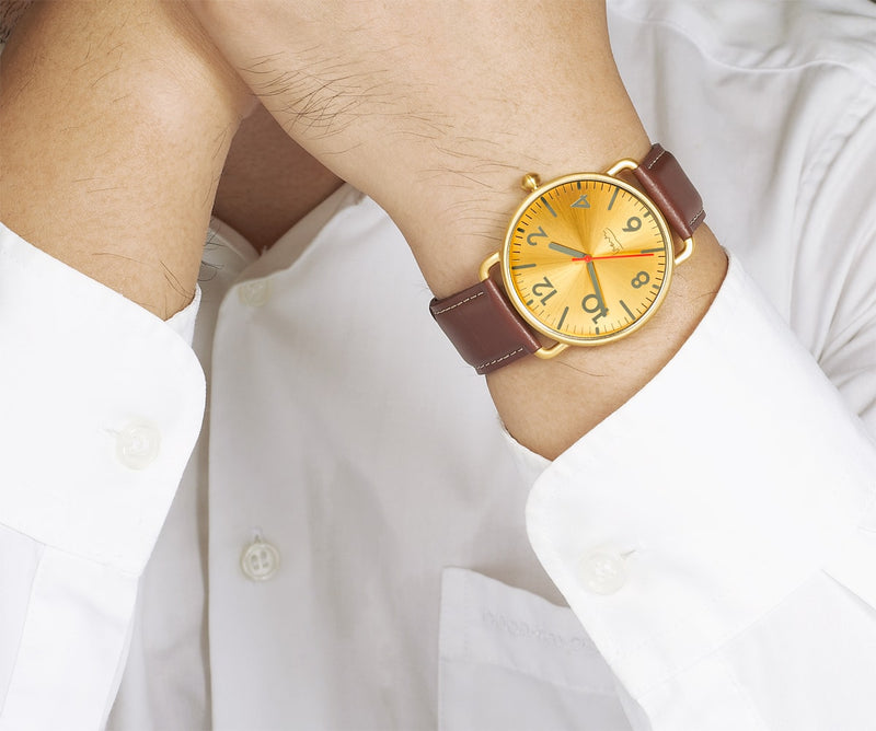 Witherspoon BRASS Watch