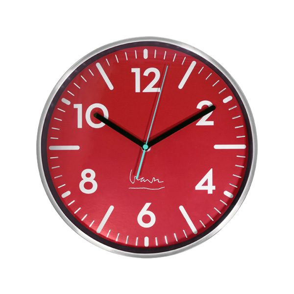 Witherspoon RED Clock