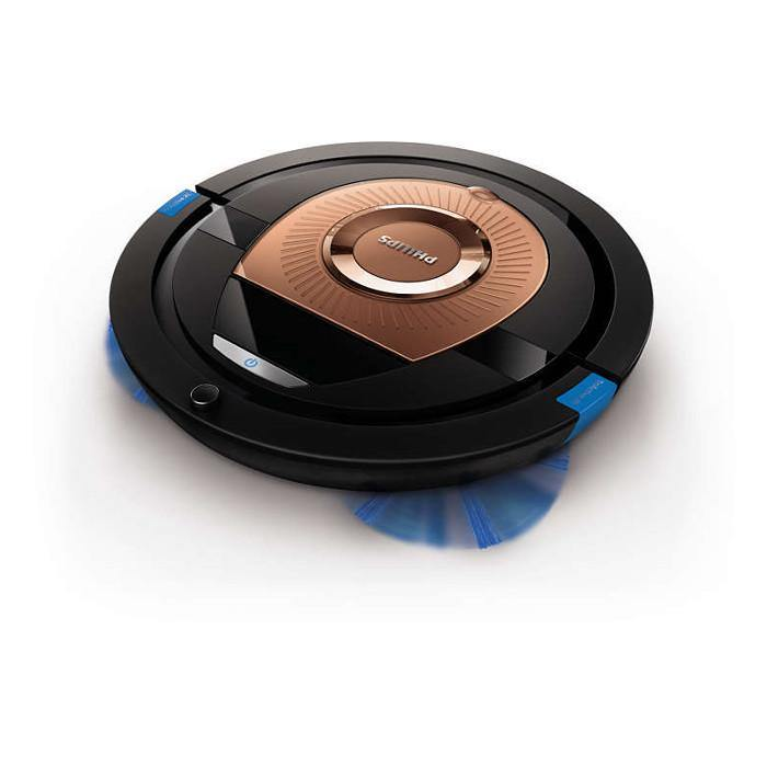 Philips FC8776/01 Vacuum Cleaner Robot Triactive Xl Nozzle 6 Cm Slimdesign 4 Wheel System