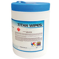 TITAN WIPES Bote con 160 toallas