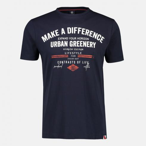 Tee-shirt Make a Difference marine