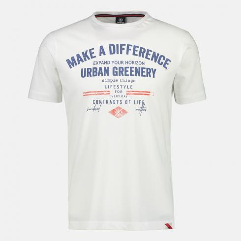 Tee-shirt Make a Difference blanc