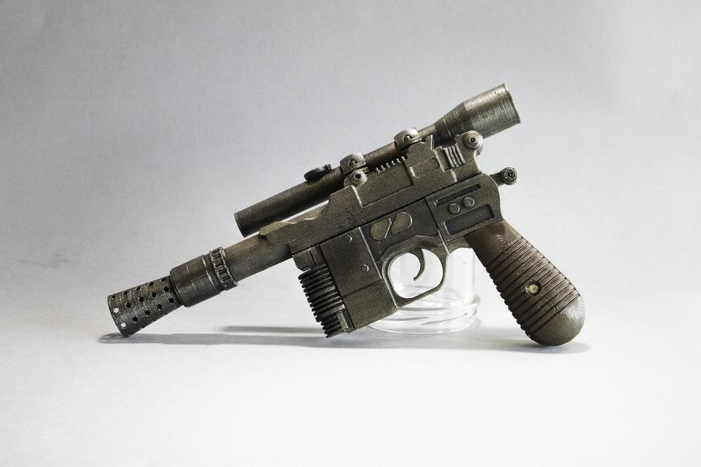 Han Solo Blaster From Star Wars