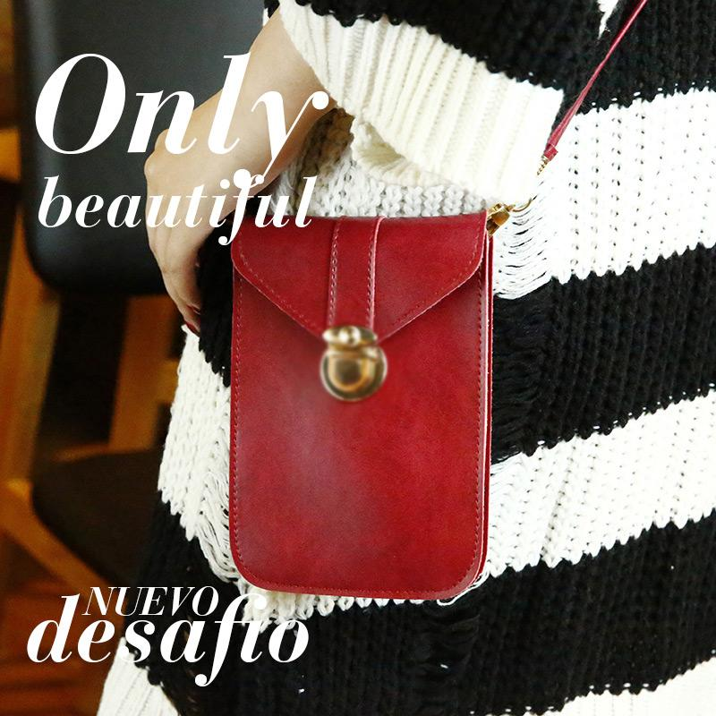 Touchable PU Leather Change Bag(✨Mother\/'s Day Promotion✨ Mobile Phone Bag)