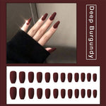 Reusable nail stickers(24PCS)
