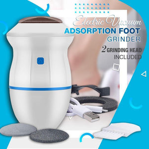 ?THE BEST GIFT?Electric Vacuum Cleaner Foot Grinder