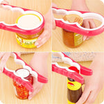 4 In 1 Multifunction Easy Jar & Cap Opener