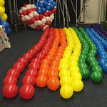Rainbow Pintail Party Balloon (100 PCS)