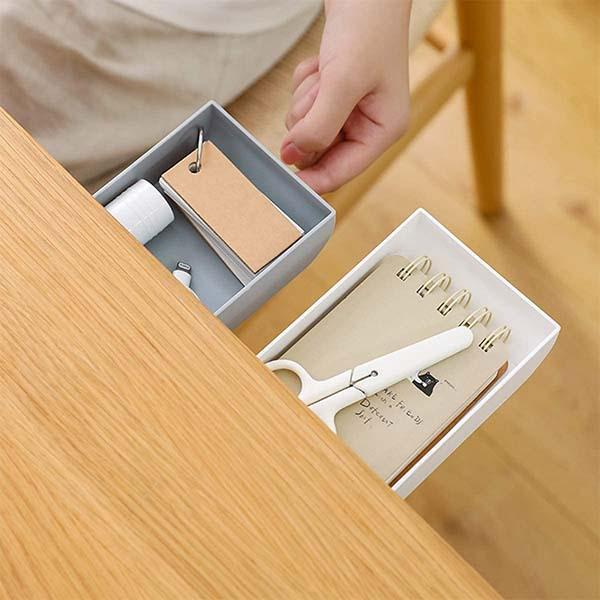 Under Desk Drawer Organizer