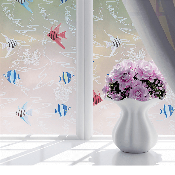 Frosted Privacy Window Film Sticker