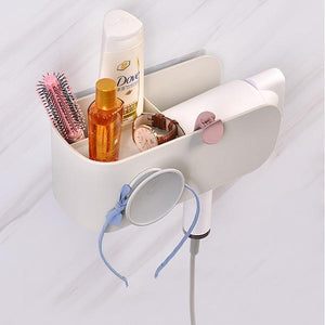 Wall Mount Hair Dryer Rack