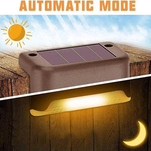 Waterproof Outdoor Solar Deck Lights