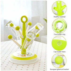 Candy Tree Plastic Cup Drying Rack