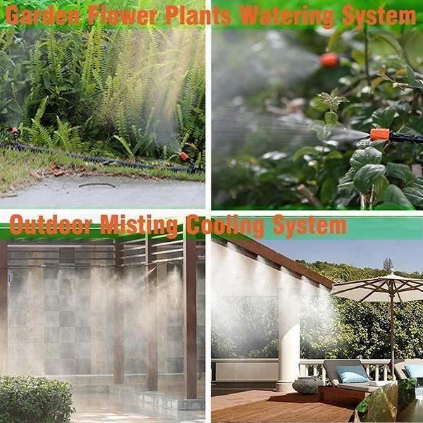 Courtyard Patio Misting Cooling kit