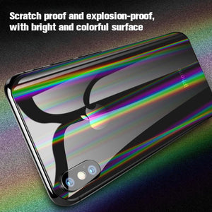 Transparent Aurora Mobile Phone Back Film For iPhone(2PCS)