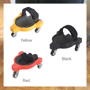 Universal Wheel Sliding Woodworking Knee Pads