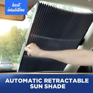 Automatic Retractable Sun Shade