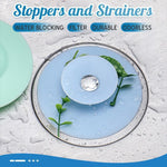 Stoppers and Strainers (4PCS)