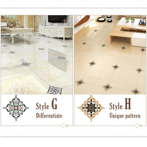 Tile Diagonal Sticker (21 PCS)
