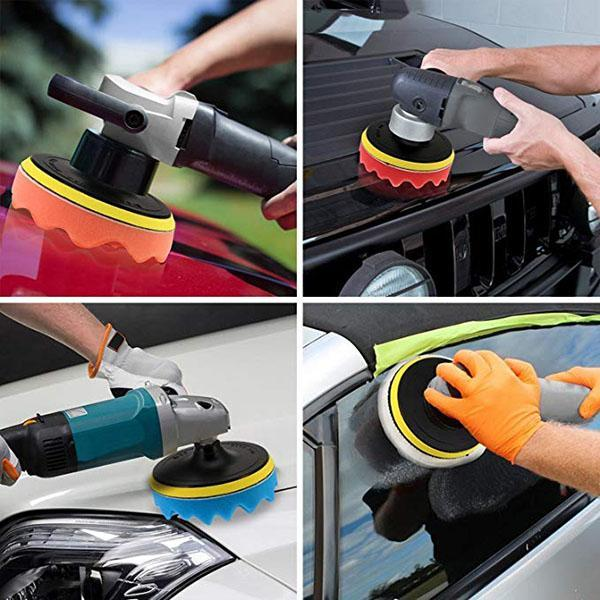 Car Polishing And Waxing Sponge Set