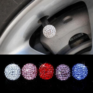 Imitation Diamond Automobile Tire Valve Cap