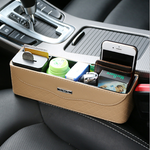 Load image into Gallery viewer, Car Seat Storage Pocket With Cupholders