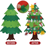Load image into Gallery viewer, 🔥Hot Sale🔥DIY Felt Tree & Spare Ornaments Bundle