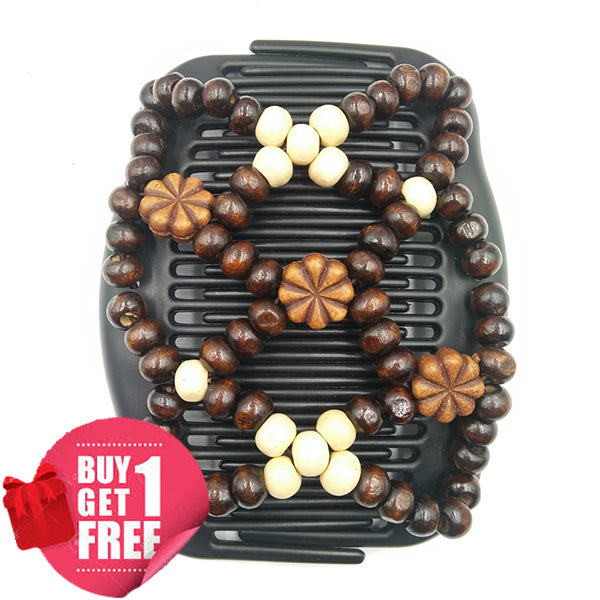 🔥Get Free Hair Comb🎁Beaded Stretch Hair Combs Clips