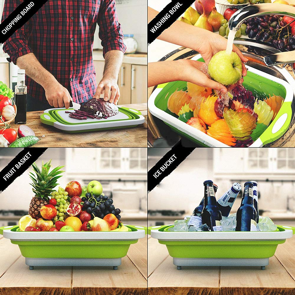 🔥Hot Sale🔥Multifunction Chopping Boards(Grey)