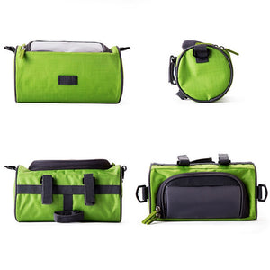 🔥Hot Sale🔥Waterproof Bicycle Bike Front Storage Bag,PVC Pouch