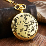 Load image into Gallery viewer, 💖To My Son&Husband&Grandpa,Quartz Pocket Chain Watch