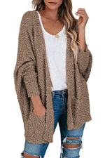 Load image into Gallery viewer, 🔥50%OFF Free Shipping🔥Knit Sweater Open Front Cardigan with Pockets